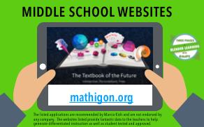 Middle School Websites