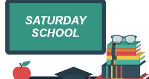 2/21/2020: REBOOT-SATURDAY SCHOOL (CONFIRM PARTICIPATION NOW): 3/6, 3/20, 3/27, 4/17, 4/24, 5/1
