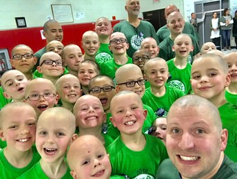 St. Baldrick's Shavees Must be Registered by March 8th!