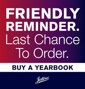 Get your 2020-2021 Yearbook now!