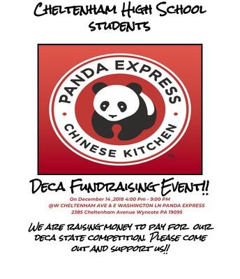 DECA Fundraising Event @ Panda Express