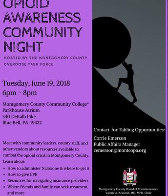 Opioid Awareness Community Night