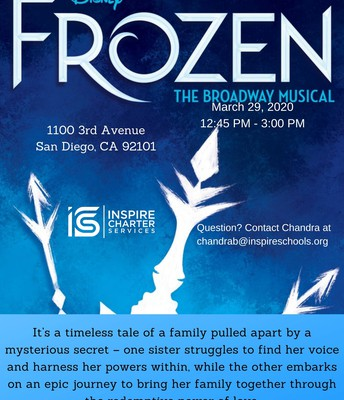 Broadway San Diego Presents Disney's Frozen
