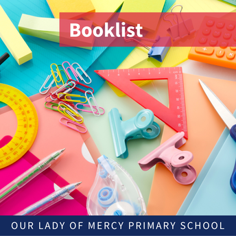 Bring booklist items in on first day