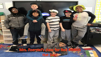 Red Ribbon Week - Hat Day