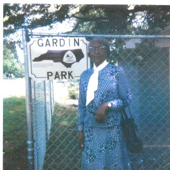 The late Beatrice Gardin, Humanitarian of Ranlo, NC