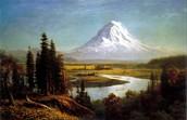 Mount Rainier by Albert Bierstadt