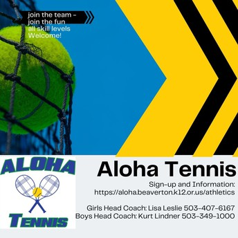 Girls and Boys Tennis