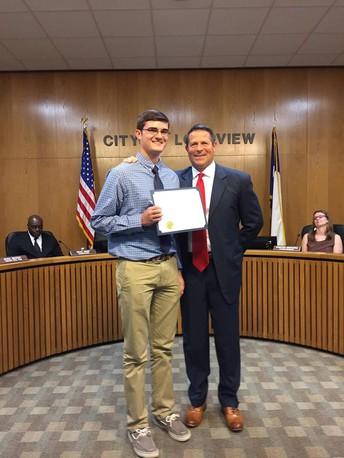 Congratulations Jacob Hill!!