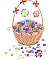 The theme for our classroom basket is CANDY.