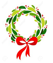 Christmas Wreath Pick Up