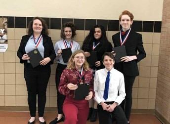 GHS UIL Academics, Speech, and Debate bring home medals