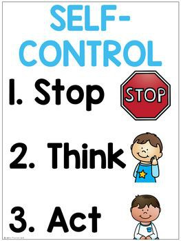 Guidance News!  All About Self Control
