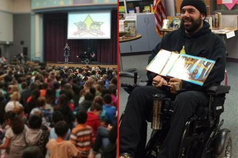 Author Visit - January 15