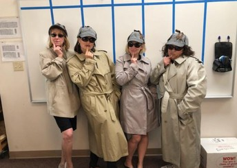 Sherlock Holmes or our 1st Grade Teachers?