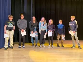 8th grade Third Honors