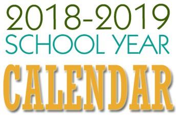 18-19 Master Calendar of Events