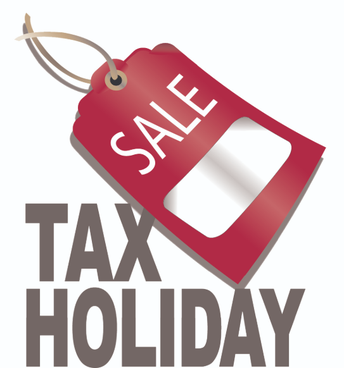 Tax Free Holiday this Weekend!