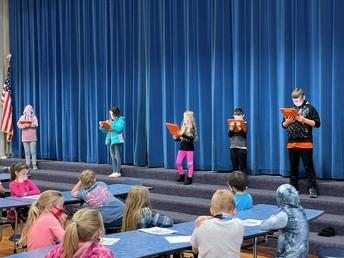 Third grade readers theater