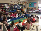 1st graders share traditions