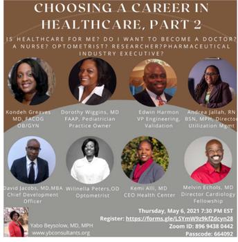 Choosing a Career in Healthcare, Part 2
