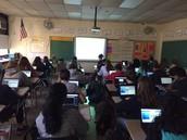 Hour of Code Activities @Delran Middle School