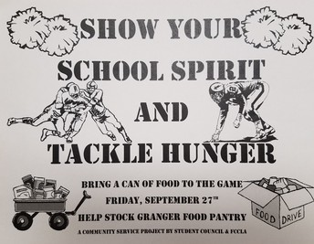 Help Stock Granger Food Pantry