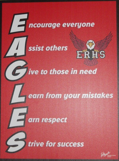 Encourage everyone. Assist others. Give to those in need. Learn from mistakes. Earn respect. Strive for success.