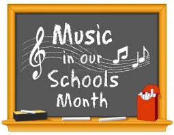 """Celebrating Music In our School's Month!""- Thursday, March 29th"