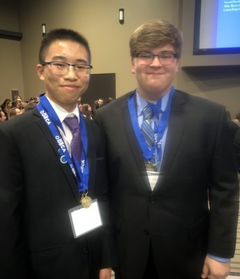 Stanley Zhao and John Adkins
