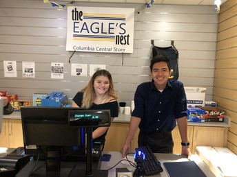 Please stop by the Columbia Central Eagle's Nest School Store!