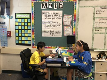 5th Grade Math Class