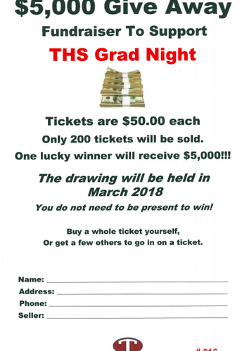 Grad Night Fundraiser
