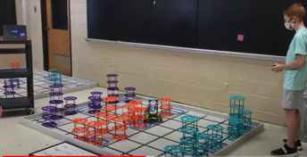 CMS Robotics Preps for State Competition in April