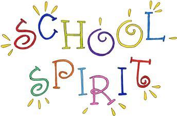 Let's show our school spirit!