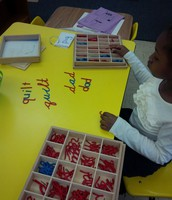 Building Words in Montessori