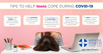 Image: Tips to help teens cope during COVID-19