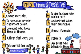 Top 10 Things Kids Deserve