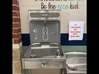 Touchless Water Fountains