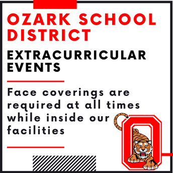 Masks Required at Extracurricular Events