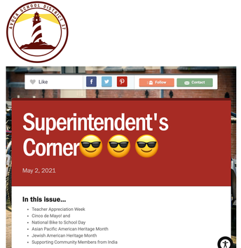 Revisit the May 5 Superintendent's Corner