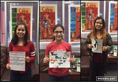 8th Grade Red Ribbon Contest Winners