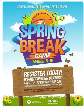 Spring Break Camp!
