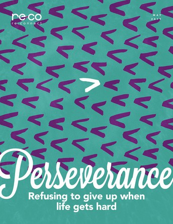 RE:Connect WORD FOR MAY -- PERSEVERANCE
