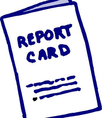 Report Cards go Home--October 26th!