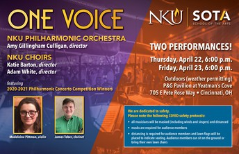 """One Voice"" Philharmonic Orchestra & Choirs"