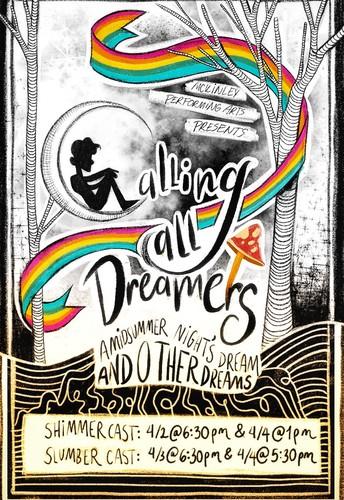 El Programa de Artes Escénicas de McKinley presenta su producción 2020: Llamando a todos los soñadores: sueño de una noche de verano y otros sueños