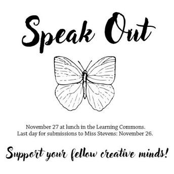 Speak Out: Poetry Slam