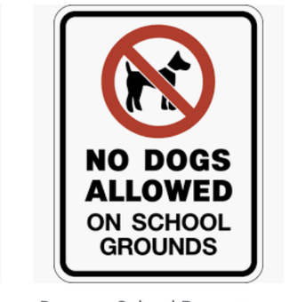 Dogs on Property