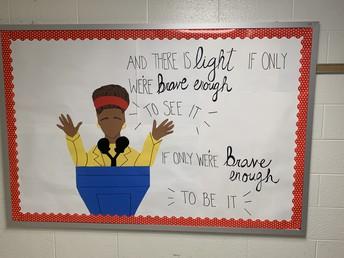 Inspiration in the Hallways